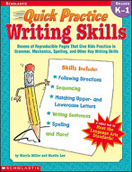 Quick Practice: Writing Skills: Grades K-1