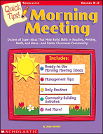 Quick Tips! Morning Meeting