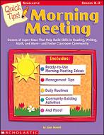 Quick Tips! Morning Meeting (Enhanced eBook)