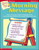Quick Tips: Morning Message