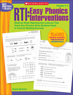 RTI: Easy Phonics Interventions (Enhanced eBook)