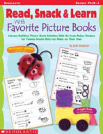 Read, Snack and Learn With Favorite Picture Books (Enhanced eBook)
