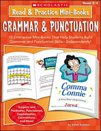 Read and Practice Mini-Books: Grammar and Punctuation (Enhanced eBook)