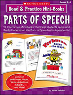 Read and Practice Mini-Books: Parts of Speech (Enhanced eBook)