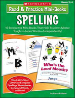 Read and Practice Mini-Books: Spelling (Enhanced eBook)