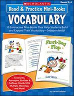 Read and Practice Mini-Books: Vocabulary