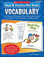 Read and Practice Mini-Books: Vocabulary