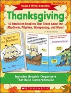 Read and Write Booklets: Thanksgiving