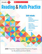 Reading & Math Practice: Grade 1 (Enhanced Ebook)