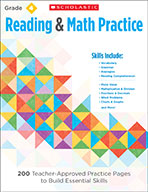 Reading & Math Practice: Grade 4 (eBook)