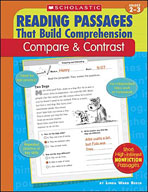 Reading Passages That Build Comprehension: Compare and Contrast