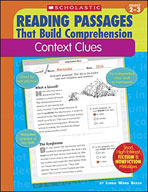 Reading Passages That Build Comprehension: Context Clues (Enhanced eBook)