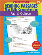 Reading Passages That Build Comprehension: Fact and Opinion (Enhanced eBook)