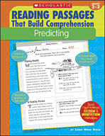 Reading Passages That Build Comprehension: Predicting