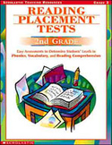 Reading Placement Tests: Second Grade