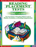 Reading Placement Tests: Third Grade