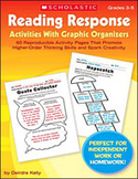 Reading Response Activities With Graphic Organizers (Enhanced eBook)