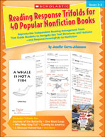Reading Response Trifolds for 40 Popular Nonfiction Books: Grades 2-3 (Enhanced eBook)