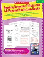 Reading Response Trifolds for 40 Popular Nonfiction Books: Grades 4-6