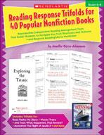 Reading Response Trifolds for 40 Popular Nonfiction Books: Grades 4-6 (Enhanced eBook)