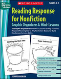 Reading Response for Nonfiction Graphic Organizers and Mini-Lessons (Enhanced eBook)