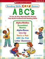 Reading Skills Card Games: ABC's (Enhanced eBook)