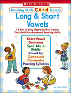 Reading Skills Card Games: Long and Short Vowels (Enhanced eBook)