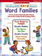 Reading Skills Card Games: Word Families (Enhanced eBook)