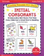Reading Success Mini-Books: Initial Consonants (Enhanced eBook)