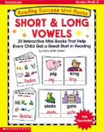 Reading Success Mini-Books: Long and Short Vowels