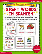 Reading Success Mini-Books: Sight Words in Spanish (Enhanced eBook)