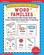 Reading Success Mini-Books: Word Families