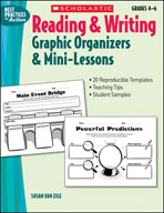 Reading and Writing Graphic Organizers and Mini-Lessons (Enhanced eBook)