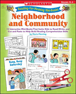 Reading-for-Meaning Mini-Books: Neighborhood and Community (Enhanced eBook)