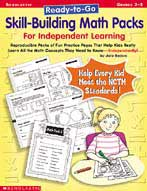 Ready-to-Go Skill-Building Math Packs For Independent Learning (Enhanced eBook)