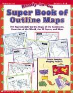 Ready-to-Go Super Book of Outline Maps (Enhanced eBook)