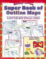 Ready-to-Go Super Book of Outline Maps (Enhanced eBook)
