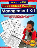 Ready-to-Use Independent Reading Management Kit: Grades 4-6 (Enhanced eBook)