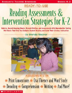 Ready-to-Use Reading Assessments & Intervention Strategies for K-2
