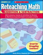 Reteaching Math: Addition & Subtraction
