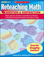 Reteaching Math: Addition & Subtraction (Enhanced eBook)