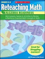 Reteaching Math: Algebra Readiness (Enhanced eBook)