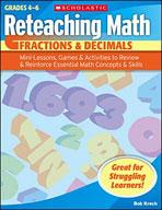 Reteaching Math: Fractions & Decimals (Enhanced eBook)