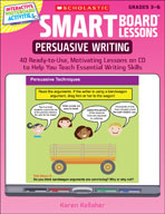 SMART Board Lessons: Persuasive Writing