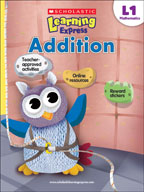 Scholastic Learning Express Level 1: Addition (Enhanced eBook)