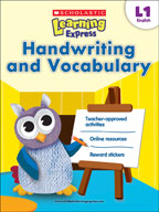 Scholastic Learning Express Level 1: Handwriting and Vocabulary (Enhanced eBook)