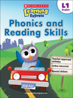 Scholastic Learning Express Level 1: Phonics and Reading S