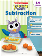 Scholastic Learning Express Level 1: Subtraction (Enhanced eBook)
