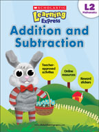 Scholastic Learning Express Level 2: Addition and Subtraction (Enhanced eBook)