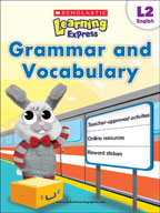 Scholastic Learning Express Level 2: Grammar and Vocabulary (Enhanced eBook)